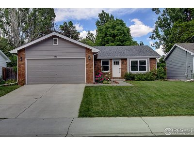 Fort Collins Single Family Home For Sale: 812 Queens Ct