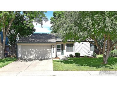 Fort Collins Single Family Home For Sale: 3519 Tradition Dr