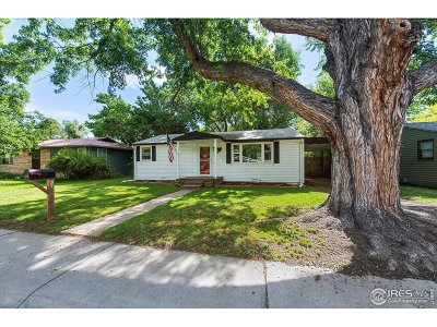 Longmont Single Family Home For Sale: 750 Rees Ct