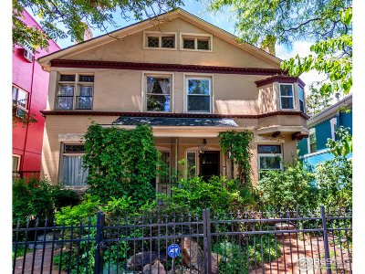 Denver Condo/Townhouse For Sale: 1237 N Pearl St
