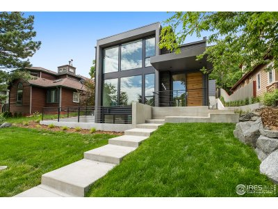 Boulder Single Family Home For Sale: 2921 4th St