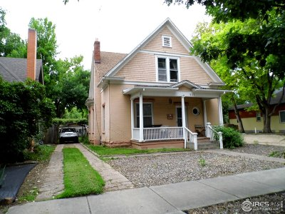 Fort Collins Single Family Home For Sale: 821 Laporte Ave