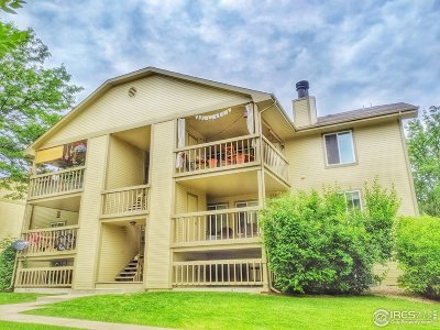 Fort Collins Condo/Townhouse For Sale: 1672 Riverside Ave #116