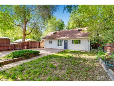 Fort Collins Single Family Home For Sale: 832 Sycamore St