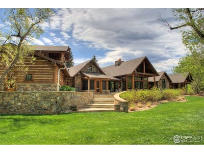 Boulder CO Single Family Home For Sale: $7,795,000
