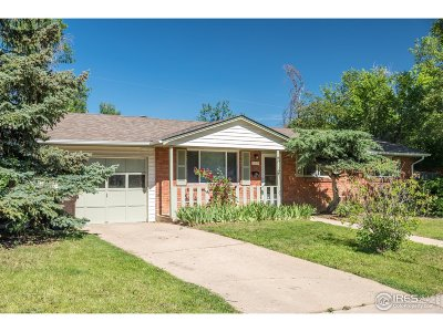 Boulder Single Family Home For Sale: 905 36th St