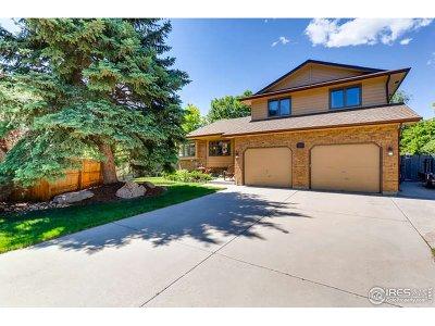 Longmont Single Family Home For Sale: 1142 Twin Peaks Cir