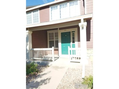Greeley Condo/Townhouse For Sale: 6806 W 3rd St #24