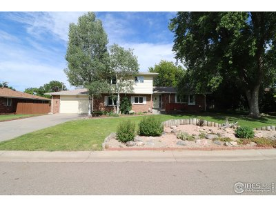 Greeley Single Family Home For Sale: 2448 51st Ave