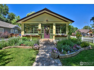 Single Family Home For Sale: 1100 W Oak St