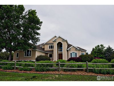 Fort Collins Single Family Home For Sale: 8025 Scenic Ridge Dr