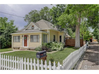 Longmont Single Family Home For Sale: 836 15th Ave