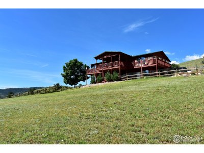 Lyons Single Family Home For Sale: 1625 Ponderosa Hill Rd