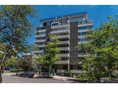 Denver Condo/Townhouse For Sale: 740 N Pearl St #807
