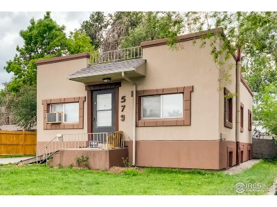 Denver Single Family Home For Sale: 579 S Osceola St