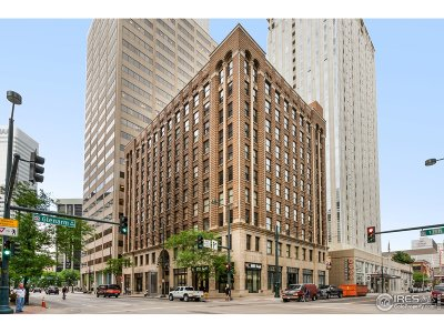 Denver Condo/Townhouse For Sale: 444 17th St #804