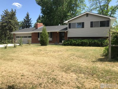 Greeley Single Family Home For Sale: 5960 37th St