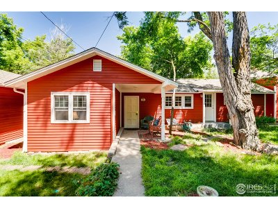 Boulder Single Family Home For Sale: 1208 Dean Pl