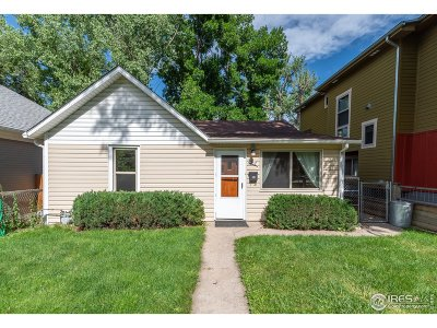 Fort Collins Single Family Home For Sale: 312 N Grant Ave