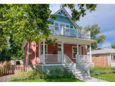Boulder Condo/Townhouse For Sale: 1627 17th St