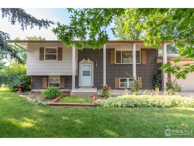 Fort Collins Single Family Home For Sale: 2600 Avocet Rd