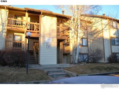 Fort Collins Condo/Townhouse For Sale: 2960 W Stuart St #102