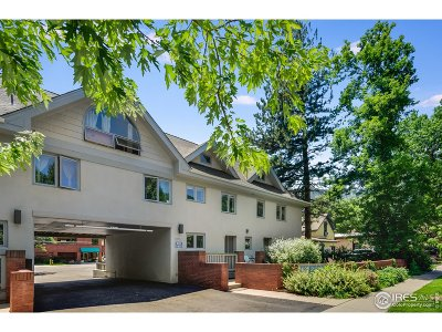 Boulder Condo/Townhouse For Sale: 620 Pearl St #C