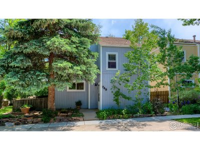 Boulder Single Family Home For Sale: 769 Cottage Ln