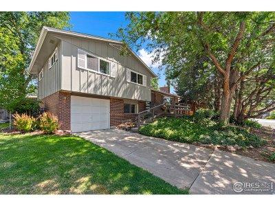Longmont Single Family Home For Sale: 1450 S Bowen St