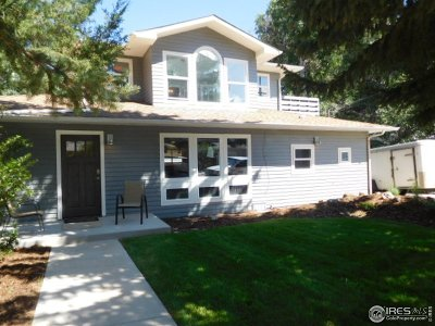 Boulder Single Family Home For Sale: 3010 13th St