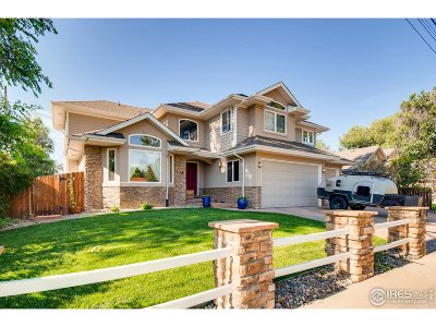 Longmont Single Family Home For Sale: 1145 15th Ave
