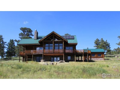 Larimer County Single Family Home For Sale: 2733 Red Ashby Rd