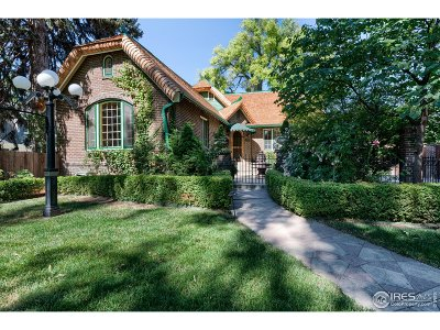 Fort Collins Single Family Home For Sale: 1315 Remington St