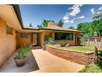 Boulder Single Family Home For Sale: 3085 18th St