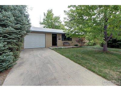Longmont Single Family Home For Sale: 1120 Sherman St