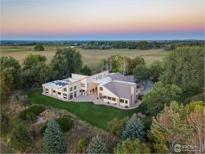 Boulder CO Single Family Home For Sale: $6,780,000