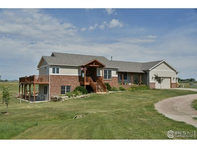Fort Collins Single Family Home For Sale: 10821 N Prima Dr