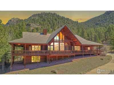 Estes Park Single Family Home For Sale: 2220 Governors Ln