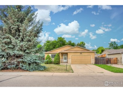 Fort Collins Single Family Home For Sale: 3207 Lymen St