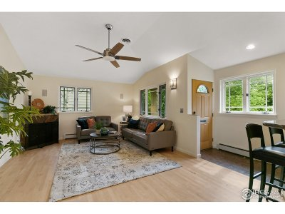 Boulder Single Family Home For Sale: 2826 11th St