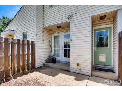 Fort Collins Condo/Townhouse For Sale: 3024 Ross Dr #B15