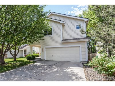 Fort Collins Single Family Home For Sale: 1831 Angelo Ct