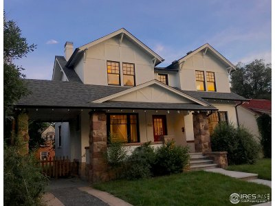 Boulder Single Family Home For Sale: 2132 Pine St