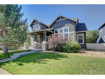 Broomfield Single Family Home For Sale: 2636 McKay Landing Pkwy