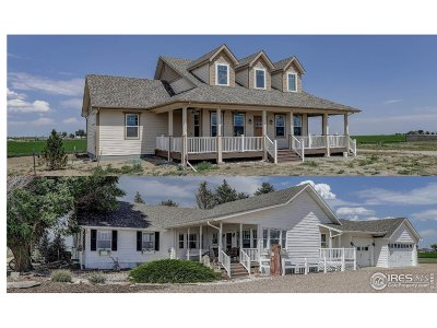 Weld County Single Family Home For Sale: 11656 County Road 72