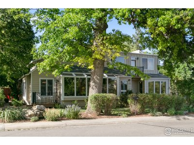 Boulder Single Family Home For Sale: 1415 Elder Ave