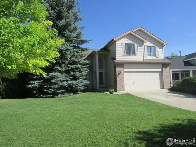 Fort Collins Single Family Home For Sale: 2354 Hampshire Ct