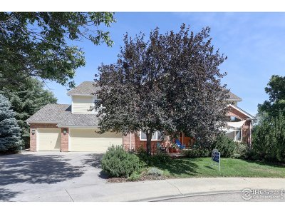 Fort Collins Single Family Home For Sale: 6212 Pheasant Ct
