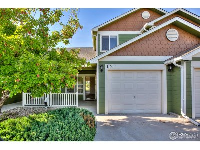 Fort Collins Condo/Townhouse For Sale: 802 Waterglen Dr #51