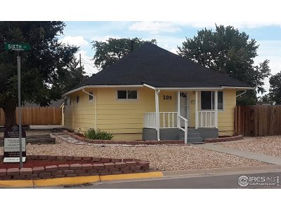 Fort Lupton Single Family Home For Sale: 109 6th St